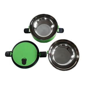 Δοχείο φαγητού AG479A με επένδυση inox, σετ 2τμχ, πράσινο   Οικιακές & Προσωπικές Συσκευές   elabstore.gr