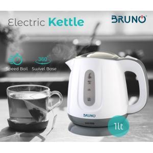 BRUNO Ηλεκτρικός βραστήρας BRN-0027, 1100w, 1lt, βάση 360° | Οικιακές & Προσωπικές Συσκευές | elabstore.gr