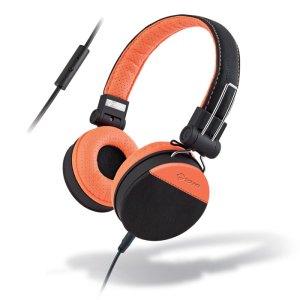 MELICONI MYSOUND SPEAK STYLE BLACK/ORANGE ON-EAR STEREO HEADPHONE (WITH MICROPHO   SMARTPHONES / TABLETS / GPS   elabstore.gr