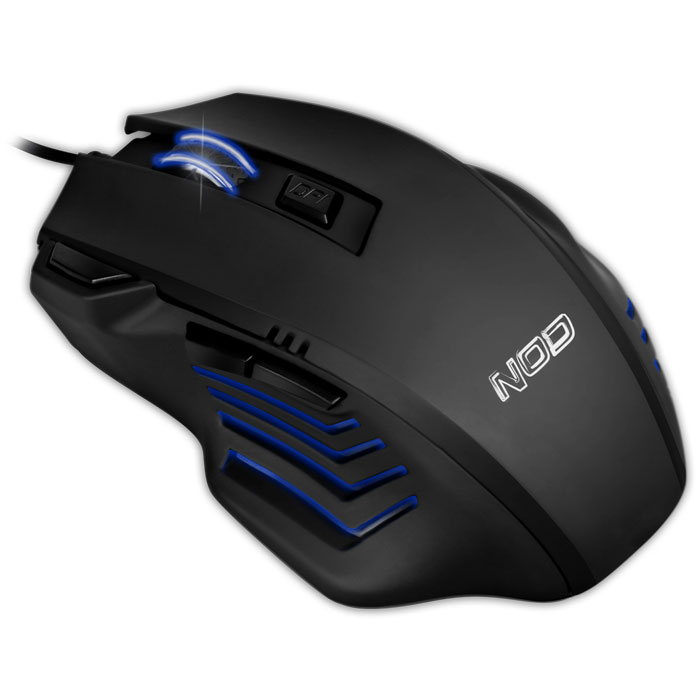NOD LOCK & LOAD NOD GAMING MOUSE BLACK RUBBER 2400DPI | ΠΕΡΙΦΕΡΕΙΑΚΑ Η/Υ & LAPTOP | elabstore.gr