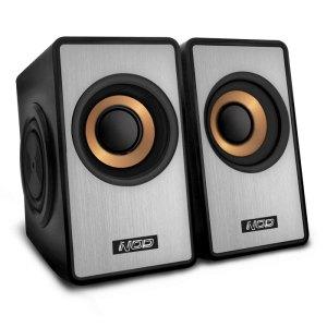 NOD SideFX SPK-003 Speaker 2.0 6W,black/silver   ΠΕΡΙΦΕΡΕΙΑΚΑ Η/Υ & LAPTOP   elabstore.gr