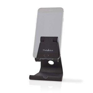 NEDIS SDSD100BK Smartphone/Tablet Stand Adjustable Black   SMARTPHONES & TABLETS ACCESSORIES   elabstore.gr