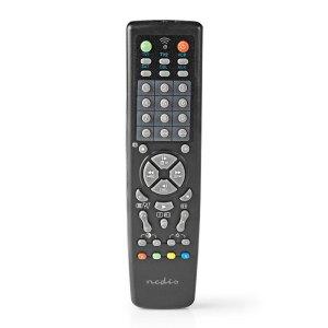 NEDIS TVRC2200BK Universal Remote Control Preprogrammed Control 10 Devices | ΕΙΚΟΝΑ / ΗΧΟΣ | elabstore.gr
