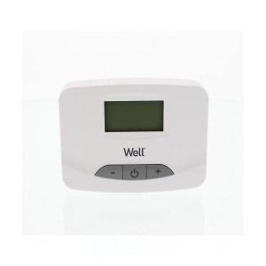 Ηλεκτρονικός ψηφιακός θερμοστάτης χώρου με οθόνη LCD Well THERMS-THERMAL-WL | ELABSTORE.GR
