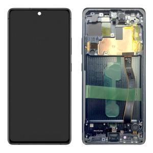 SAMSUNG Original LCD Touch Screen GH82-21992A, S10 Lite G770F, μαύρη | Service | elabstore.gr