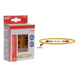 MP λαστιχάκια συσκευασίας PG008 σε κουτί, No7, 2x70mm, 60g   Αναλώσιμα - Είδη Γραφείου   elabstore.gr