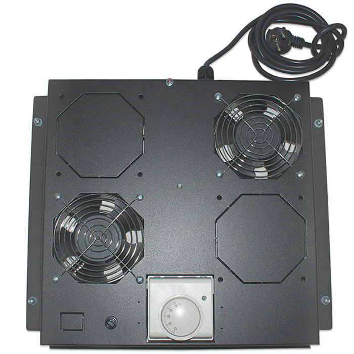 INT 712859 VENTILATION UNIT WITH THERMOSTAT, 2 FANS, ROOFMOUNT,BLACK   ΔΙΚΤΥΑΚΑ / SMART HOME   elabstore.gr