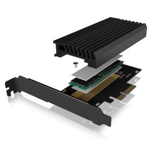 ICY BOX IB-PCI214M2-HSL PCIe CARD WITH M.2 M-KEY SOCKET FOR ONE M.2 NVMe SSD /60 | ΥΠΟΛΟΓΙΣΤΕΣ / ΑΝΑΒΑΘΜΙΣΗ | elabstore.gr