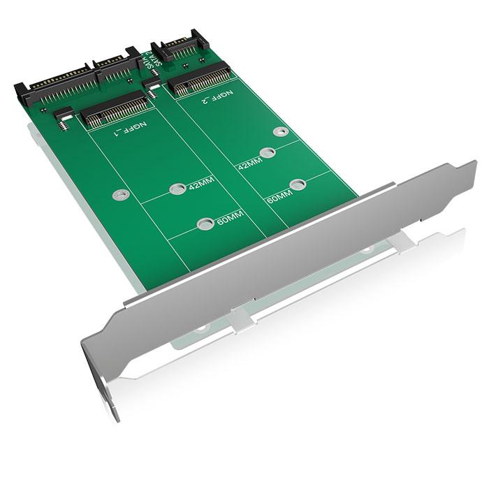 ICY BOX IB-CVB512-S Converter-board 2x SATA to 2x M.2 SATA   ΥΠΟΛΟΓΙΣΤΕΣ / ΑΝΑΒΑΘΜΙΣΗ   elabstore.gr