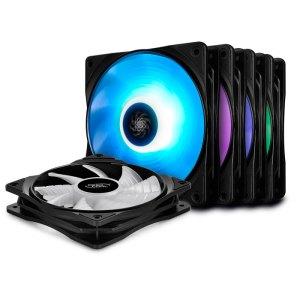 DEEPCOOL RF 120M 5 ΙΝ 1 RGB COOLING FAN 120mm BLACK | ΥΠΟΛΟΓΙΣΤΕΣ / ΑΝΑΒΑΘΜΙΣΗ | elabstore.gr