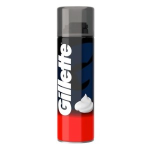 GILLETTE Αφρός ξυρίσματος Regular, 300ml | Οικιακές & Προσωπικές Συσκευές | elabstore.gr