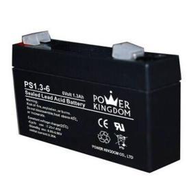 POWER KINGDOM μπαταρία μολύβδου PS1.3-6, 6V 1.3Ah | Τροφοδοσία Ρεύματος | elabstore.gr
