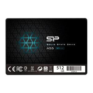 "SILICON POWER SSD A55 512GB, 2.5"", SATA III, 560-530MB/s 7mm, TLC | PC & Αναβάθμιση | elabstore.gr"