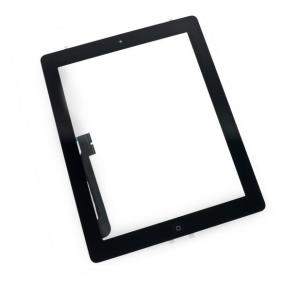 Touch Panel - Digitizer High Copy for iPad 4, with tape, Black | Service | elabstore.gr