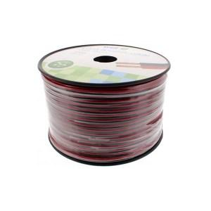 Καλώδιο Ηχείου Well 100m 2x1.00mm2 CCA Μαύρο/κόκκινο LSP-CCA1.00BR-100-WL | Ήχου & Εικόνας | elabstore.gr