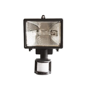 Προβολέας 500W Αλογόνου Με Πιρ Detector   Φωτισμός   elabstore.gr