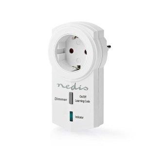 NEDIS RFPD120FWT RF Smart Plug Dimmable Schuko Type F 300 W | ΦΩΤΙΣΜΟΣ / ΗΛΕΚΤΡΟΛΟΓΙΚΑ | elabstore.gr