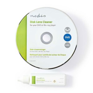 NEDIS CLDK110TP Disc Lens Cleaner Blu-ray DVD 20 ml | ΕΙΚΟΝΑ / ΗΧΟΣ | elabstore.gr