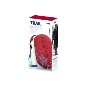 Φορητό Ηχείο Bluetooth 2x5W Waterproff IPX5 & True Wireless Srereo TRAIL κόκκινο PMG12R | Περιφερειακά | elabstore.gr