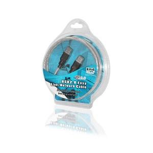 USB 2.0 CT-154 Network Cable Cliptech | Πληροφορικής | elabstore.gr