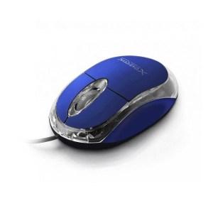 Ενσύρματο Ποντίκι 3D USB μπλε XM102B   Περιφερειακά   elabstore.gr