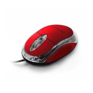 Ενσύρματο Ποντίκι 3D USB κόκκινο XM102R   Περιφερειακά   elabstore.gr