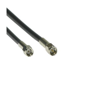 ANTENNA CABLE MALE REVERSED - SMA to MALE SMA - LMR200 0.3M BK ANTENNA CABLES 5201109   Δικτυακά & Τηλεφωνίας   elabstore.gr