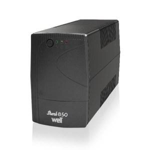 UPS 850VA Well LINE INTERACTIVE UPS-LINT-STARK850-WL | Προστασία Ρεύματος UPS | elabstore.gr