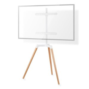"NEDIS TVSM7060WT TV Floor Stand 50 - 65"" up to 35 kg Scandanavian design White / | ΕΙΚΟΝΑ / ΗΧΟΣ | elabstore.gr"