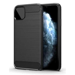 POWERTECH Θήκη Carbon Flex MOB-1547 για iPhone 12 mini, μαύρη | Αξεσουάρ κινητών | elabstore.gr