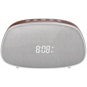 YISON ξυπνητήρι WS-1, bluetooth 5.0, 2x 5W, ένδειξη ώρας, AM/FM, ασημί | Εικόνα & Ήχος | elabstore.gr