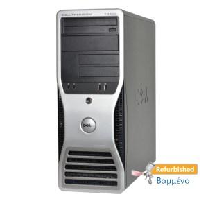 DELL Precision 690 Tower Xeon 5160/4GB DDR2/2x73GB/Κάρτα Γραφικών/DVD Grade Α+ Workstation Ref.PC | Refurbished | elabstore.gr