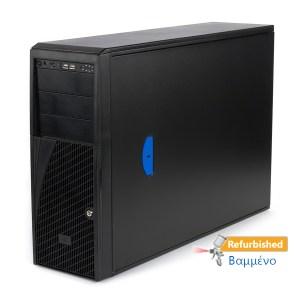 Refurbished Server Intel S2600CP Tower 2x E5-2620/32GB DDR3/8 x 1TB/Κάρτα Γραφικών 1GB/2xPSU/No ODD/ | Refurbished | elabstore.gr