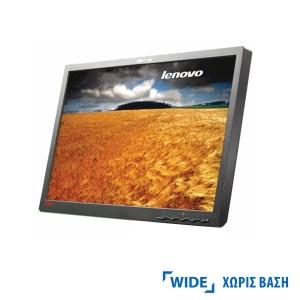 "Used Monitor L2240p TFT/Lenovo /22""/1680x1050/wide/Black/No Stand/Grade B/D-SUB & DVI-D   Refurbished   elabstore.gr"