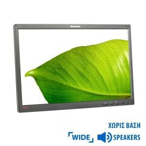 "Used Monitor L2251p TFT/Lenovo /22""/1680x1050/wide/Black/No Stand/Grade B/VGA & DisplayPort 
