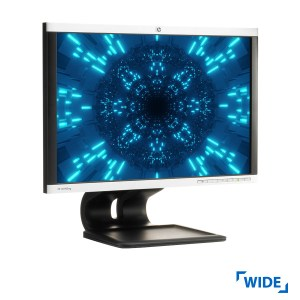 "Used Monitor LA1905wg/TFT/HP/19""/1440x900/wide/Silver/Black/Grade B/VGA & DVI-D & DP & USB HUB | Refurbished | elabstore.gr"