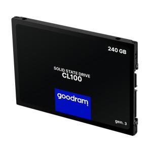 """GOODRAM SSD CL100 Gen.3 240GB, 2.5"""", SATA III, 520-400MB/s, 3D TLC NAND   PC & Αναβάθμιση   elabstore.gr"""
