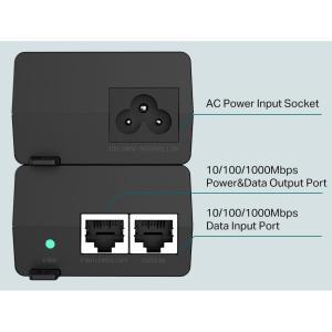 TP-LINK Gibagit PoE+ Injector TL-POE160S, 802.3af/at, Ver. 1.0 | Δικτυακά | elabstore.gr