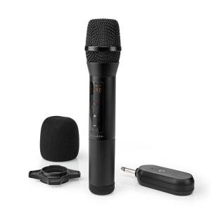 NEDIS MPWL200BK Wireless Microphone 20 Channels 1 Microphone 10 hours operating   ΕΙΚΟΝΑ / ΗΧΟΣ   elabstore.gr