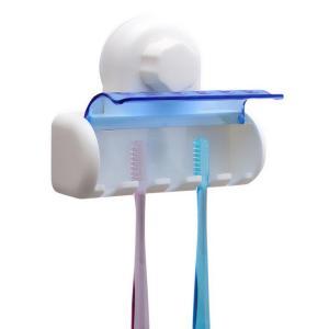 Βάση αποθήκευσης για 5 οδοντόβουρτσες CLN-0023, με βεντούζα, λευκό | Οικιακές & Προσωπικές Συσκευές | elabstore.gr