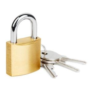CTECH λουκέτο ασφαλείας με κλειδί CTL-0012, 50mm, μεταλλικό   Gadgets - Αξεσουάρ   elabstore.gr