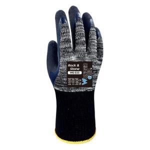 WONDER GRIP αντιολισθητικά γάντια εργασίας Rock & Stone, 8/M, γκρι | Εργαλεία | elabstore.gr