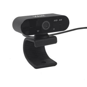USB Webcam HD4Κ w/microphone 2160P Well 4K01BK-WL | Περιφερειακά | elabstore.gr