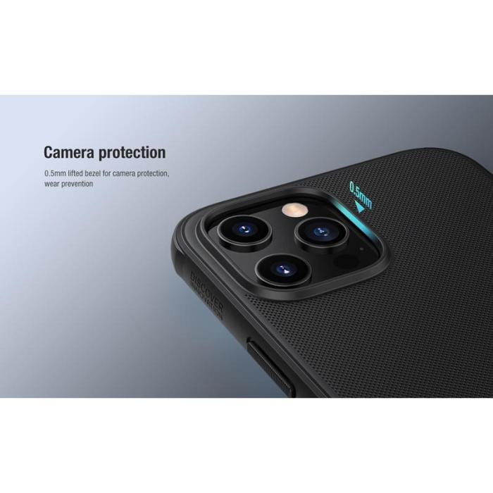 NILLKIN θήκη Super Frost Shield για iPhone 11, μαύρη   Αξεσουάρ κινητών   elabstore.gr