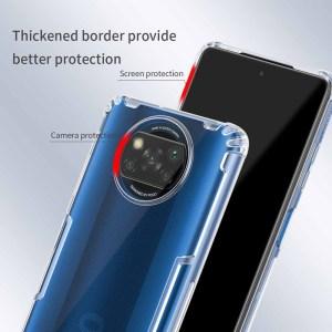 NILLKIN θήκη Nature για Xiaomi Poco X3 NFC, διάφανη | Αξεσουάρ κινητών | elabstore.gr
