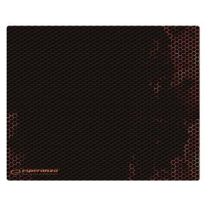 ESPERANZA gaming mouse pad Flame EGP103R, 400x300x3mm, μαύρο-κόκκινο   Συνοδευτικά PC   elabstore.gr