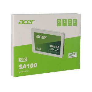 """ACER SSD SA100 480, 2.5"""", SATA III, 560-493MB/s, 3D TLC NAND   PC & Αναβάθμιση   elabstore.gr"""
