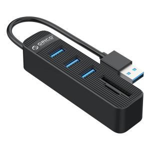 ORICO USB Hub TWU3-3AST, 1x SD, 1x TF, 3x USB ports, μαύρο | Συνοδευτικά PC | elabstore.gr