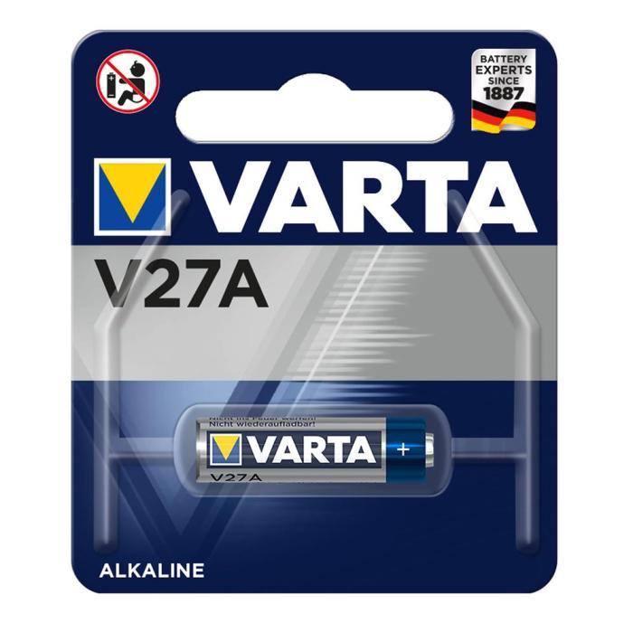 VARTA αλκαλική μπαταρία LR27A, 12V, 1τμχ | Μπαταρίες | elabstore.gr