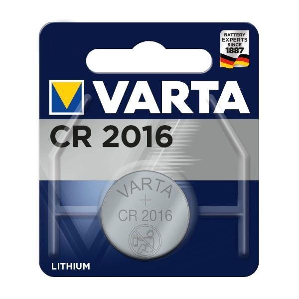 VARTA μπαταρία λιθίου CR2016, 3V, 1τμχ | Μπαταρίες | elabstore.gr